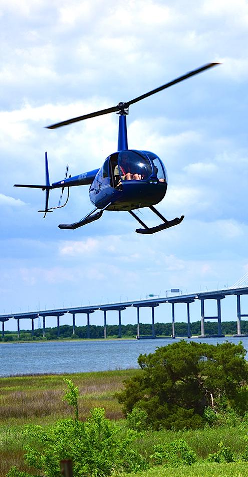 Helicopter Tours Charleston South Carolina